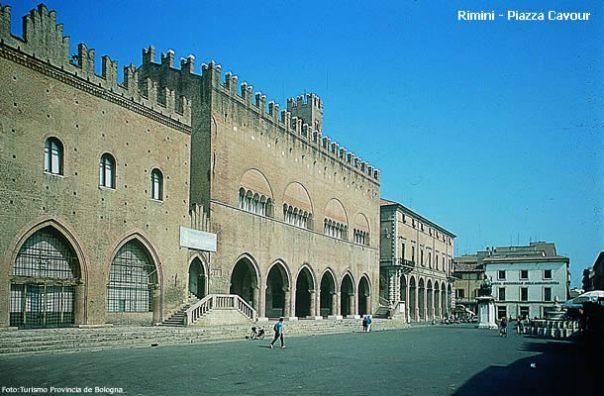 Rimini.Itália PiazzaCavour