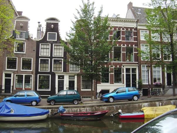A arquitetura inconfundível de Amsterdã