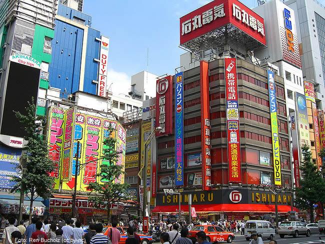 Região de Akihabara, Tokio