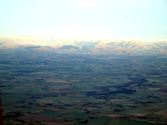 Vista dos Alpes Neozelandeses