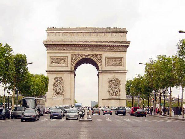 Arco do Triunfo, Champs Elysées