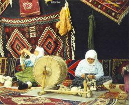 Artesã em Instambul, Turquia