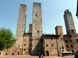 Torres gêmeas de San Gimignano