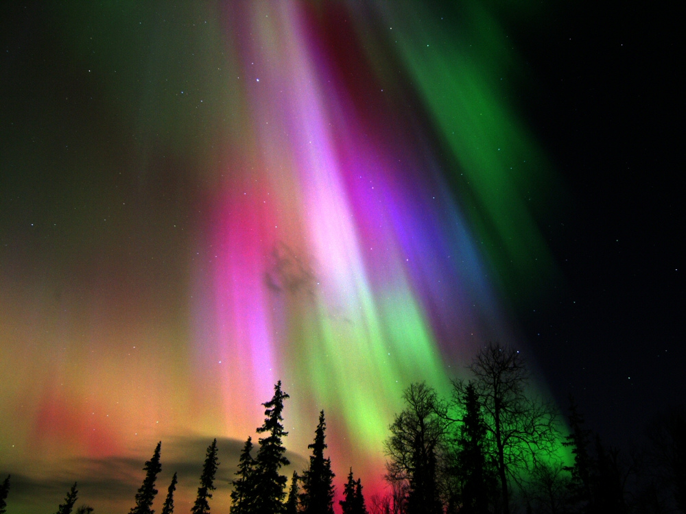 Aurora boreal, na Finlândia