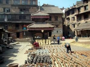 Pottery Square em Bhaktapur