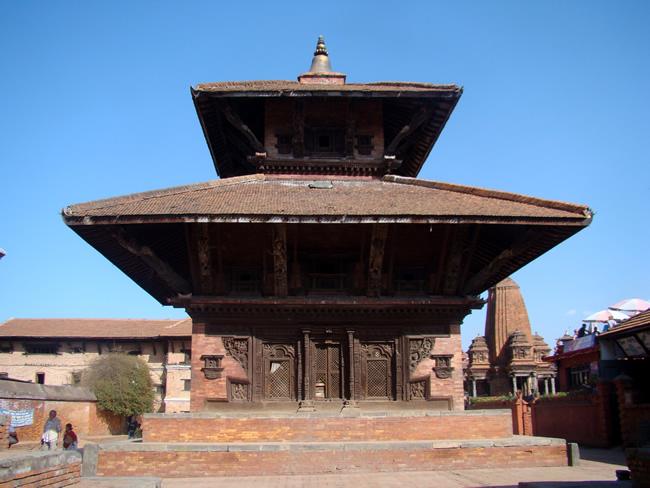 Templo estilo pagode, Bhaktapur