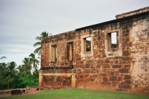Bahia, ruínas do castelo Garcia D'Avila