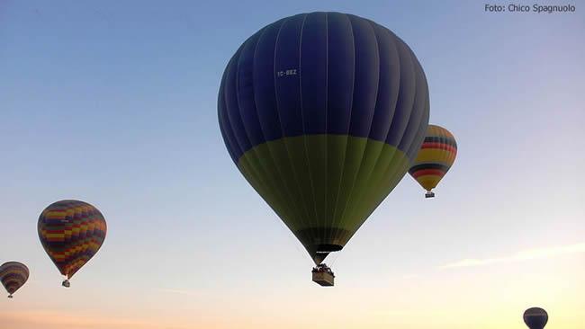 Capadócia, Turquia, balão