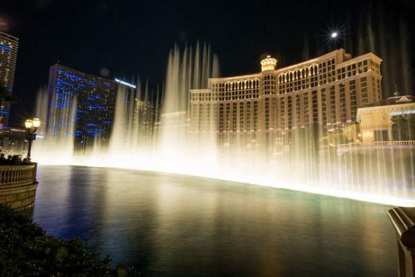 Bellagio Foutains, Las Vegas - Foto Nan Palmero CCBY