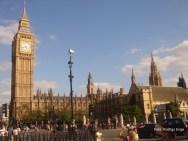 Big Ben, no verão