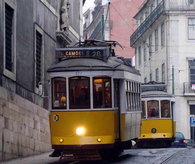 Bondes em Lisboa