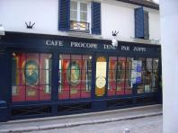 Café Procope em Saint-Germain