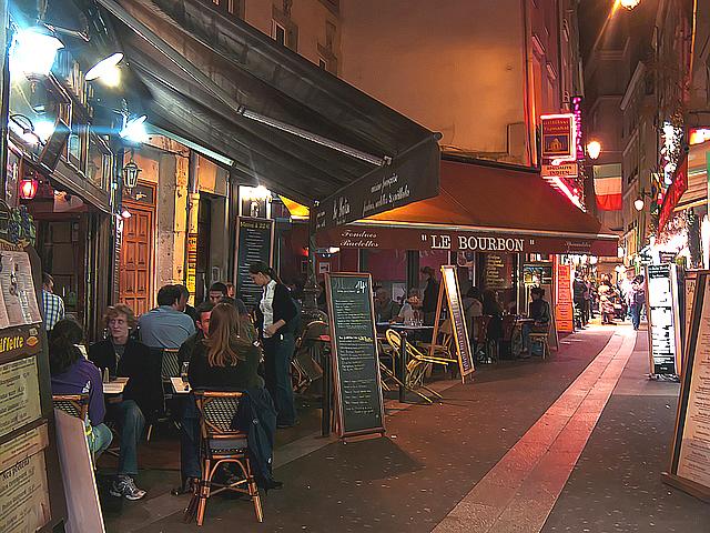 Café no Quartier Latin - Foto Ângelo Torres CC BY