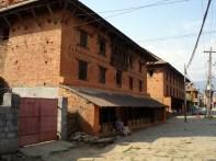 Casarão típico em Pokhara, Nepal