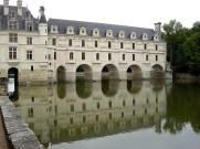 Chenonceau, rio Loire, França