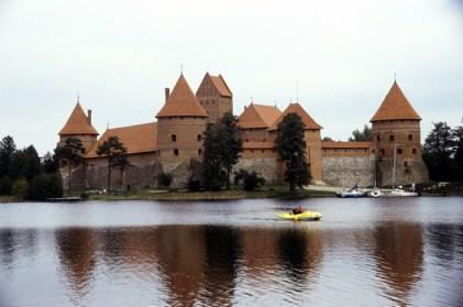Lituânia, castelo medieval de Trakai