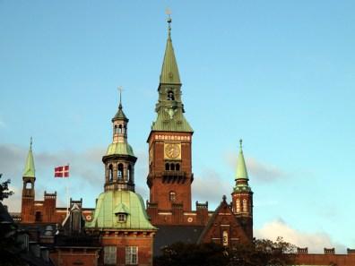 Dinamarca, centro histórico de Copenhagen