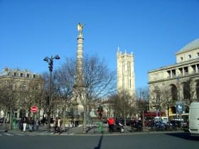 Rive droite, bairro de Châtelet em Paris