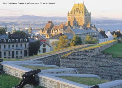 Chateaux de Frontenac, Québec, Canadá