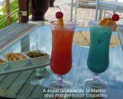 Coquetéis em Saint-Martin, Caribe