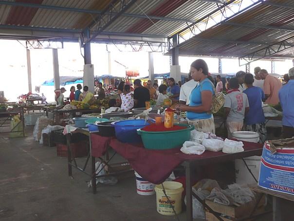Cozinha de mercado