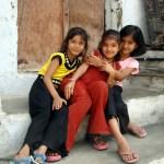 Crianças no Estado do Rajastão, Índia
