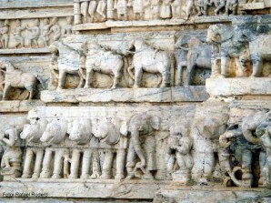 Detalhes, Jagdish temple em Udaipur, Índia