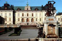 Drottningholm Royal Palace on Lake Mälaren, oeste de Estocolmo