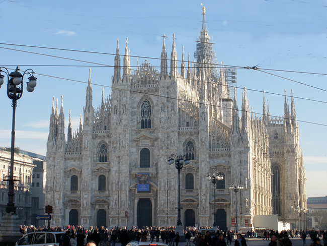 Duomo gótico de Milão, Itália