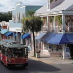 Duval Street Key Largo, Flórida, USA
