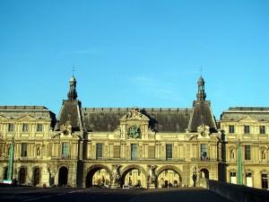 Entrada do Louvre