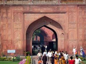 Entrada principal, Red Fort, Delhi