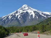 Estrada de Pucón, no Chile, para Bariloche, na Argentina