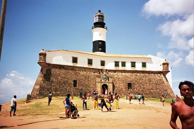 Farol da Barra, em Salvador BA