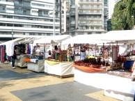 Feira artesanal da Praça da República