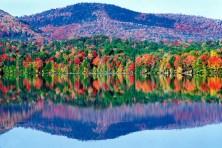 O outono, norte do Canadá