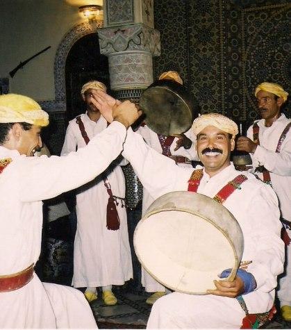 Folclore marroquino em Rabat, foto de Melina Castro