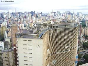 Foto tirada do Ed. Itália, São Paulo