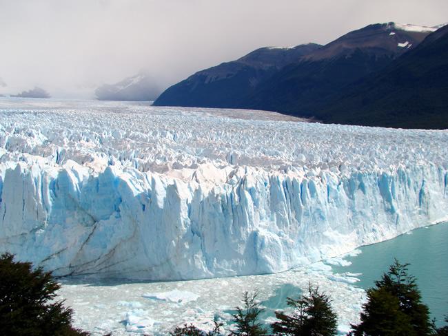 Glaciar Perito Moreno, na Patagônia, Argentina