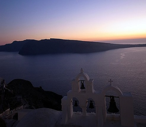 Grécia, Santorini, Foto Maggel Meng C BY