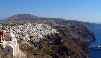 Grécia, cidade de Santorni