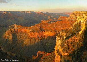 Grand Canyon no poente, Arizona