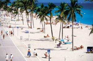 Hollywood_Beach, Miami, Flórida