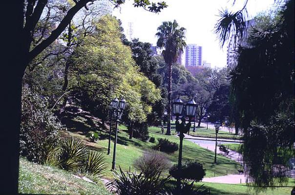 Parque no bairro de Palermo, Buenos Aires
