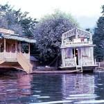 House-boats, na Cachemira, Índia