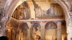 Igreja em caverna de Goreme, Turquia