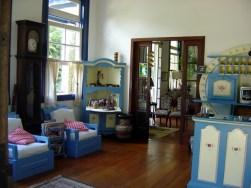 Interior de hotel fazenda em Bananal SP