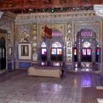 Interior de palácio em Jodhpur, Rajastão
