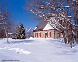 Canadá no inverno, muito frio e neve
