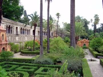 Jardim do Real Alcázer de Sevilha